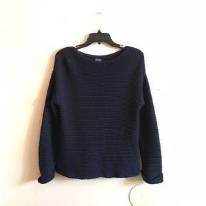 Zara Navy Knit Sweater
